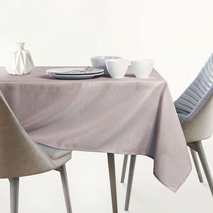 AmeliaHome Empire AH/HMD Tablecloth Set PowderPink 115x180cm/30x180cm 2pcs