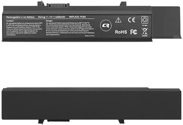 Qoltec Long Life Notebook Battery For Dell Vostro 3500 4400mAh