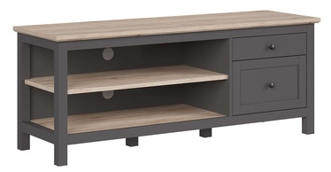 Black Red White Bocage TV Cabinet Graphite/San Remo Oak