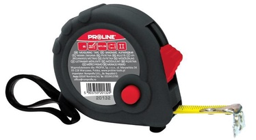 Proline Metal Tape With Magnet 7.5mx25mm