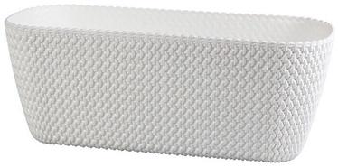Prosperplast Splofy Flower Box White 39.7x18x14.5cm