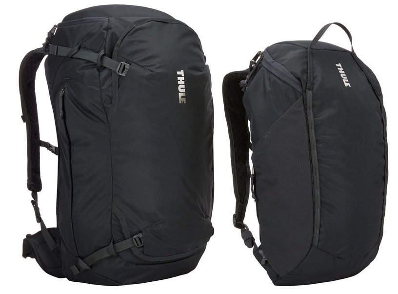 Thule Landmark 60L Backpack Obsidian