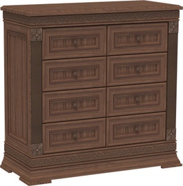 MN Chest Of Drawers K1 100 Dark Brown