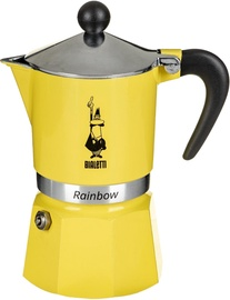 Bialetti Rainbow Moka Pot 0.12l Yellow