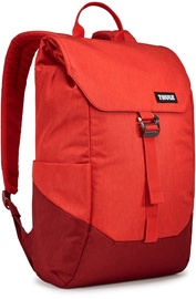 """Thule Lithos 15.6"""" 20L Laptop Backpack Lava/Red Feather"""