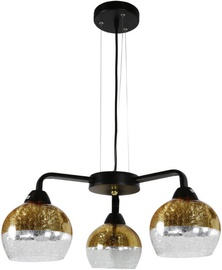 Candellux Cromina 33-57259 Ceiling Lamp 3x60W E27 Black/Gold