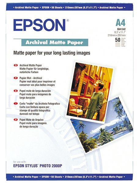Epson C13S041342 A4 Matte 50
