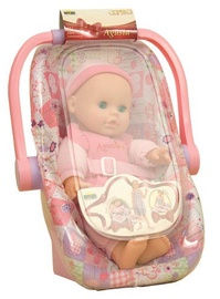 Dromader Agusia Baby Doll in Car Seat ZD-3855