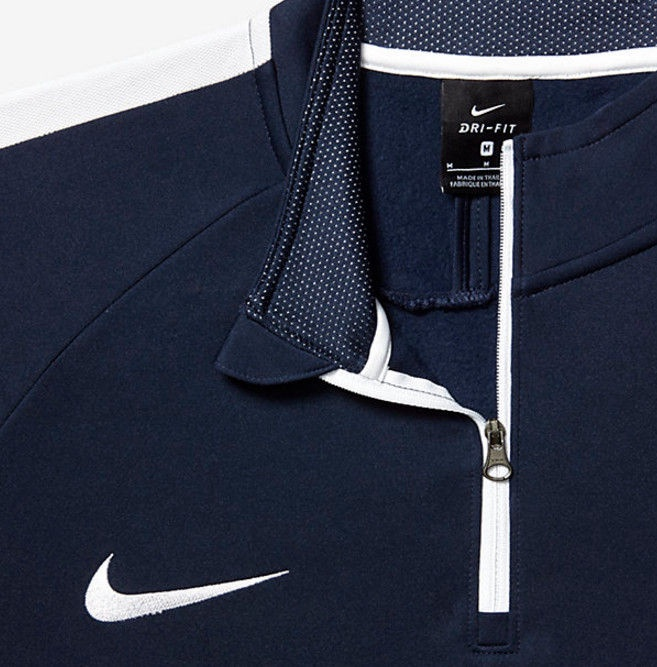 Nike Dry Academy Drill Top 839344 451 Navy L