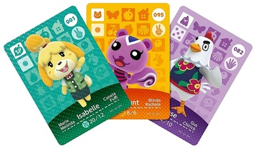 Аксессуар Nintendo Amiibo Animal Crossing - Happy Home Designer Cards 3-Pack