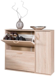 Batų spintelė Maridex DRZWI Sonoma Oak, 860x270x1020 mm