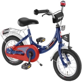 Vaikiškas dviratis Puky ZL 12-1 Blue/Red