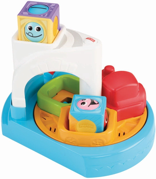 Fisher Price Roller Blocks Whirling Train Town CDC13