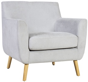 Home4you Armchair Sandra Light Gray 21543