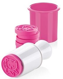 Формочка для печенья Tescoma Cookie Stamp Animals, 55 мм, розовый, 8 шт.