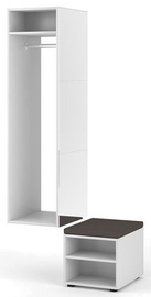 Vivaldi Meble Clever Hallway Unit White