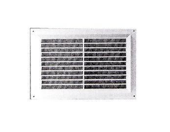 Ventilācijas reste Europlast, 250x170mm, brūna
