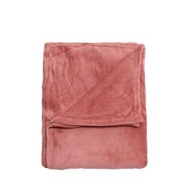 Pleds Flanel Blush 125x150cm rozā