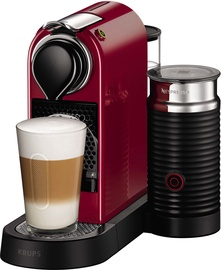 Kavos aparatas Nespresso Citiz & Milk Red
