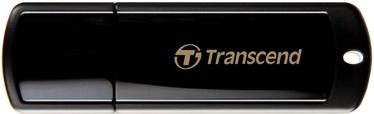 USB atmintinė Transcend Jet Flash 350 Black, USB 2.0, 4 GB