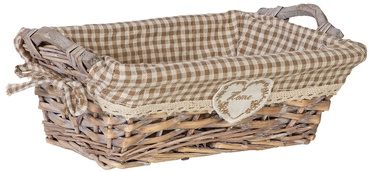 Home4you Basket Willi Home 29x19xH10cm Light Brown
