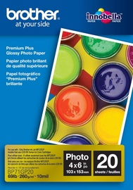 Brother Photo Paper A6 260 Glossy 20 Pages