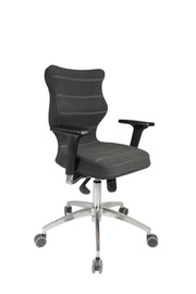 Biroja krēsls Entelo Perto Chrome DC17 Black