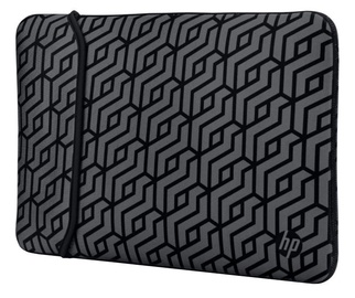 "HP Notebook Reversible Sleeve 14"" Black/Grey"