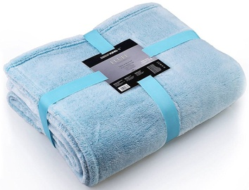 DecoKing Fluff Blanket Turquoise 220x240cm