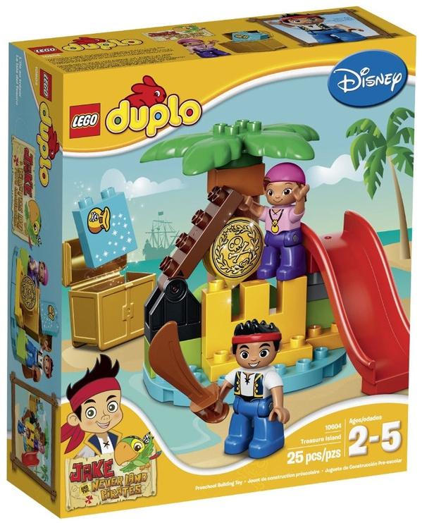 LEGO DUPLO Pirates Treasure Island 10604