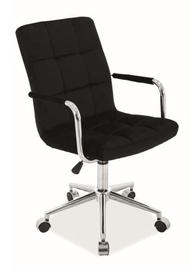Signal Meble Q-022 Velvet Chair Black