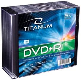 Esperanza 1079 Titanum DVD+R 8x 4.7GB Slim Jewel Case 10pcs