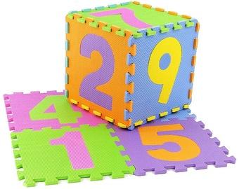 Dėlionė Tommy Toys Eva Puzzle Mat Numbers 9pcs 405639