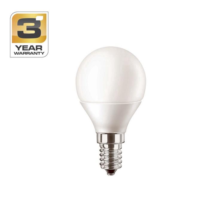 SPULDZE LED P45 6W E14 WW FR ND 470LM (STANDART)