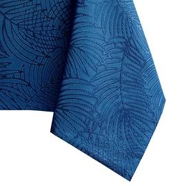 Скатерть AmeliaHome Gaia, синий, 1400 мм x 2400 мм