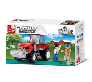 Konstruktor Sluban Farm Town, Traktor