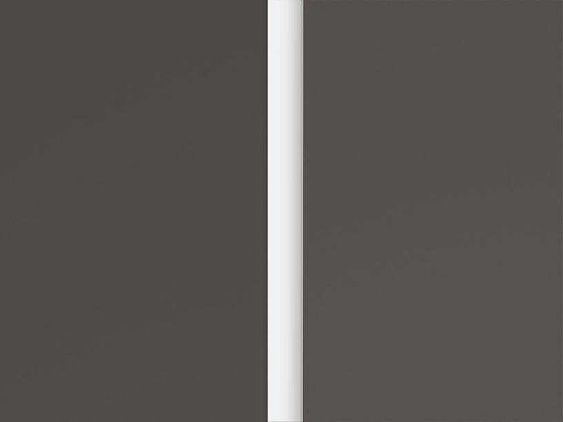 Black Red White Graphic Hallway Wardrobe Wolfram Grey/White