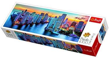 Puzle Trefl Panorama Miami After Dark 29027, 1000 gab.