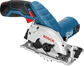 Bosch GKS 10.8V-Li Cordless Circular Saw with 2 Batteries