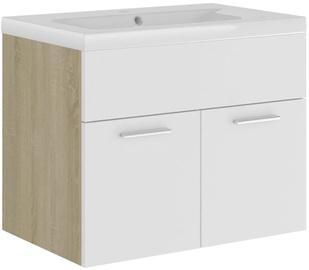 Шкаф для раковины VLX 3070825, коричневый, 38.5 x 60 см x 46 см
