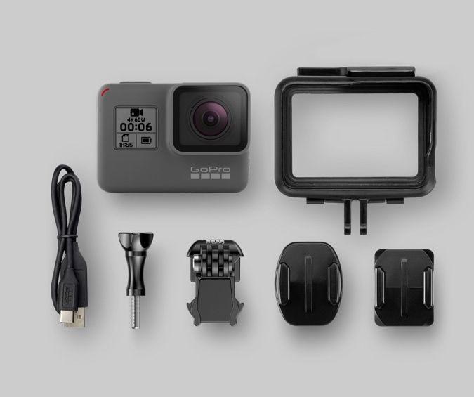 Seikluskaamera Gopro Hero6 Black