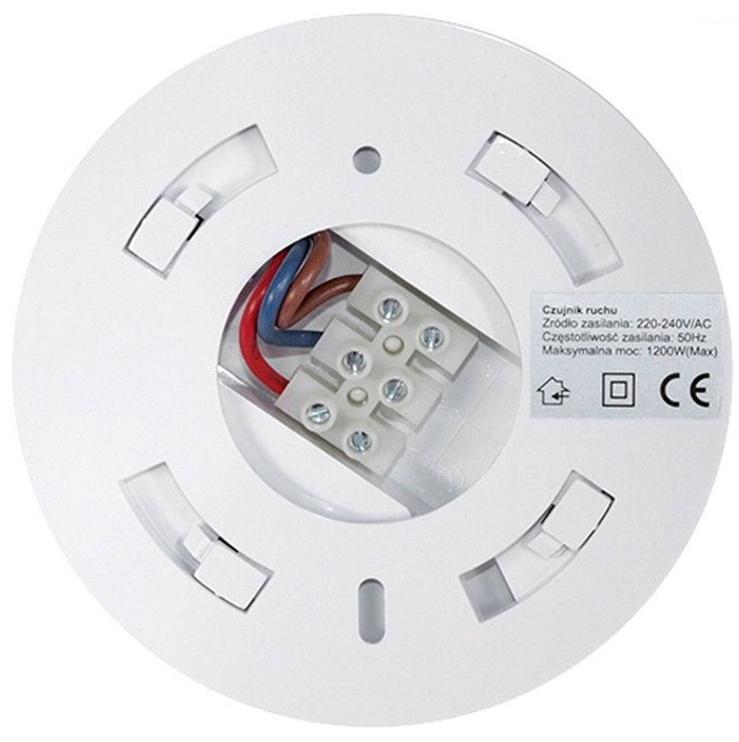 Maclean MCE19 Ceiling Motion Sensor White