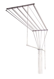 SNB Ceiling Cloth Dryer With 5 Rods 1.30m Silver