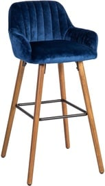 Home4you Bar Stool Ariel Blue