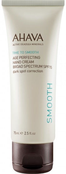 Ahava Time To Smooth Age Perfecting Hand Cream SPF15 75ml