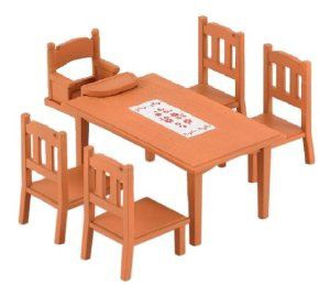 Žaislinė figūrėlė Epoch Sylvanian Family Doll's House Dining Table 2933