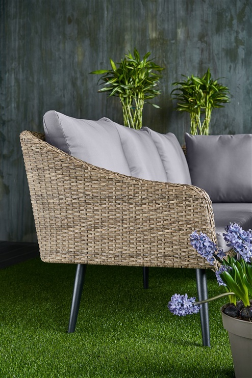 Sodo baldų komplektas Domoletti SF1617 Sand/Grey
