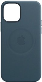 Apple MagSafe Leather Back Case For Apple iPhone 12 Pro Max Baltic Blue