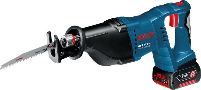 Bosch GSA 18 V-LI Cordless Reciprocating Saw without Battery