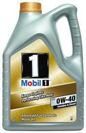 Mobil 1 FS 0W40 Synthetic Oil 5l
